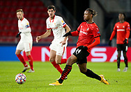 Brandon Soppy of Stade Rennais during the UEFA Champions League, Group E football match between Stade Rennais and Sevilla FC (FC Seville) on December 8, 2020 at Roazhon Park in Rennes, France - Photo Jean Catuffe / ProSportsImages / DPPI