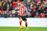 Chris Maguire (#7) of Sunderland AFC during the EFL Sky Bet League 1 match between Sunderland AFC and Luton Town at the Stadium Of Light, Sunderland, England on 12 January 2019.