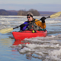 Ice Floes on the Potomac