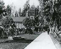 1910 St Stephens Episcopal Church on SE corner of Hollywood Blvd. & Ivar St.