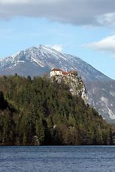 Castle at Bled lake. (Photo by Vid Ponikvar / Sportal Images)/ Sportida)