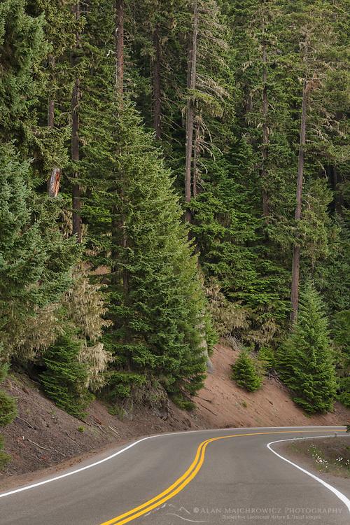 Hurricane Ridge Road, Olympic National Park Washington