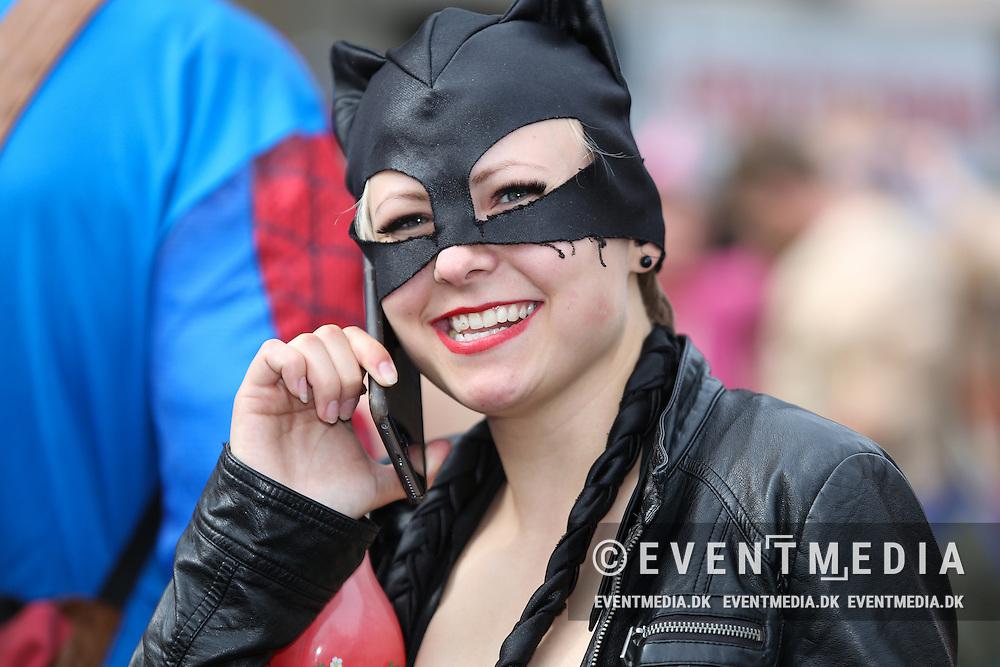 Stjerneparaden ved Aalborg Karneval, 28. maj 2016. (Allan Jensen/EVENTMEDIA).