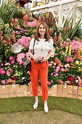 Alex Jones at the RHS Chelsea Flower Show Press Day, Royal Hospital Chelsea, London England. 22 May 2017.<br /> Photo by Dominic O'Neill/SilverHub 0203 174 1069 sales@silverhubmedia.com