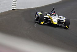 May 18, 2018 - Indianapolis, Indiana, United States of America - CHARLIE KIMBALL (23) of the United States brings his car down the frontstretch during ''Fast Friday'' practice for the Indianapolis 500 at the Indianapolis Motor Speedway in Indianapolis, Indiana. (Credit Image: © Chris Owens Asp Inc/ASP via ZUMA Wire)