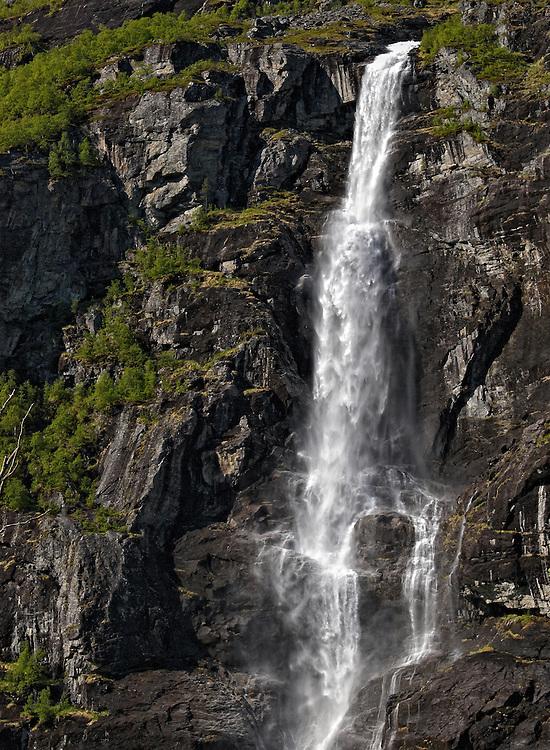Norway - Dontefossen in Romsdal's valley