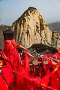 Love Locks, Mt Huashan, Xian, Shaanxi Province, China
