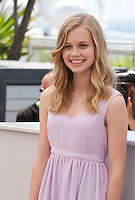 Actress Angourie Rice at the The Nice Guys film photo call at the 69th Cannes Film Festival Sunday 15th May 2016, Cannes, France. Photography: Doreen Kennedy