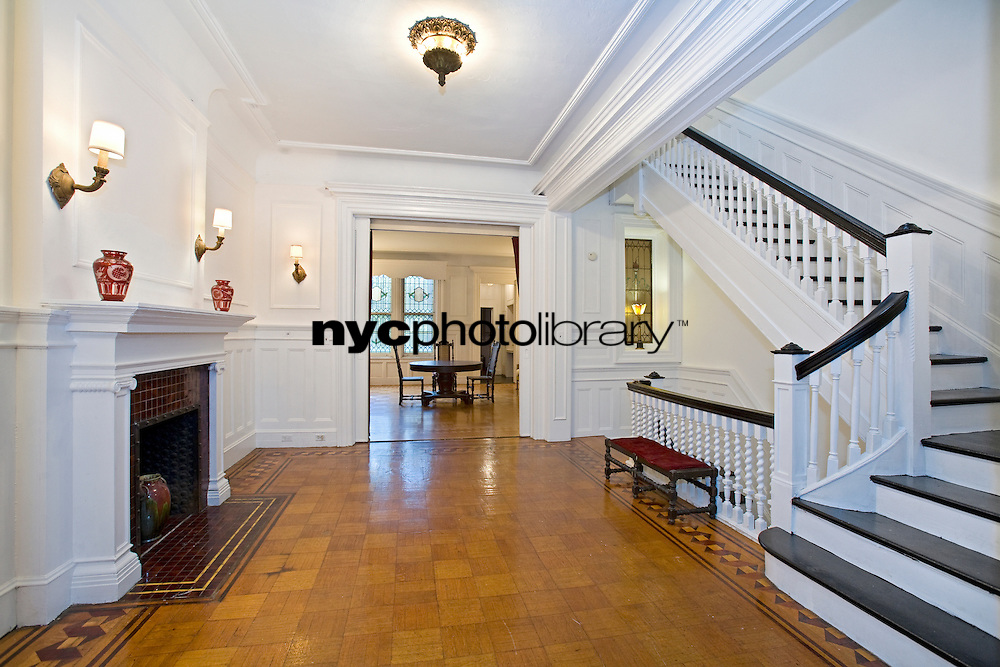 Staircase at 127 West 88th Street
