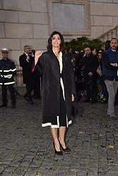 Rome, Piazza Del Campidoglio Event Gucci Parade at the Capitoline Museums, In the picture: Virginia Raggi