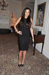 AMAL FASHANU at the launch of Whole World Water at The Savoy Hotel, London on 22nd March 2013.