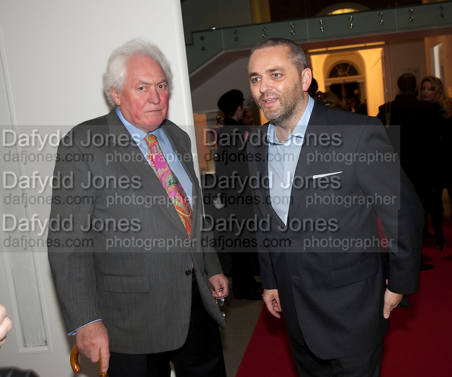 """EDWARD BOOTH-CLIBBORN; KARL FOWLER, Launch party for a very large limited Edition of  """"The History of the Saatchi Gallery """"edited by Booth Clibborn and published by Kraken Opus. Saatchi Gallery,  The Kings Road. London. 26 November 2009"""