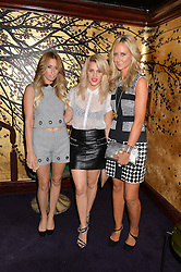 Left to right, STACEY SOLOMAN, ASHLEY ROBERTS and LADY VICTORIA HERVEY at a party to celebrate the launch of the Dee Ocleppo 2015 Pre Fall Collection benefiting the Walkabout Foundation held at Loulou's, 5 Hertford Street, London on 16th June 2015.
