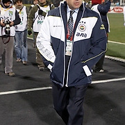 Fenerbahce's coach Aykut Kocaman during their Turkish Superleague soccer match Genclerbirligi between Fenerbahce at the 19 Mayis stadium in Ankara Turkey on Friday 25 November 2011. Photo by TURKPIX