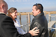 12/7/09 - 11:25:15 AM - FORTESCUE, NJ: Diana & Ken - December 7, 2009 - Fortescue, New Jersey. (Photo by William Thomas Cain/cainimages.com)