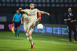 Nino Kouter of Mura during football match between NS Mura and PSV Eindhoven in Third Round of UEFA Europa League Qualifications, on September 24, 2020 in Stadium Fazanerija, Murska Sobota, Slovenia. Photo by Blaz Weindorfer / Sportida