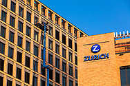 the building of the Zurich Insurance Company in the MesseCity in the district Deutz, Cologne, Germany.<br /> <br /> die Zurich-Versicherung in der MesseCity im Stadtteil Deutz, Koeln, Deutschland.