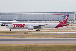 © under license to London News Pictures.FILE PHOTO TAM Brazil Boeing 777 Aircraft at London Heathrow<br /> <br /> Photo credit should read IAN SCHOFIELD/LNP