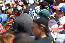 April 29, 2018 - Talladega, Alabama, United States of America - Fans look on from the grandstands during the GEICO 500 at Talladega Superspeedway in Talladega, Alabama. (Credit Image: © Chris Owens Asp Inc/ASP via ZUMA Wire)