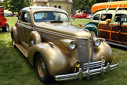 06 August 2016:  1937 Buick Opera Coupe<br /> Owners: David Graves<br /> <br /> Displayed at the McLean County Antique Automobile Association Car show at David Davis Mansion in Bloomington Illinois