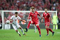 KOPENHAGA 01.09.2017 MECZ ELIMINACJE DO MISTRZOSTW SWIATA 2018 GRUPA E: DANIA - POLSKA 4:0 --- FIFA World Cup WM Weltmeisterschaft Fussball 2018 QUALIFYING ROUND GROUP E MATCH IN COPENHAGEN: DENMARK - POLAND 4:0 MACIEJ MAKUSZEWSKI NICKLAS BENDTNER MIKE JENSEN FOT. <br /> <br /> Norway only