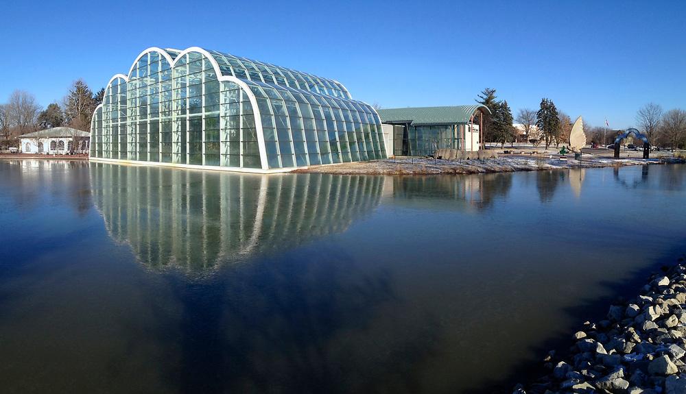 Missouri Botanical Garden's Butterfly House in Chesterfield, Missouri.