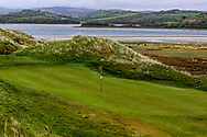 Three balls on the 5th green during Round 3 of the Ulster Boys Championship at Donegal Golf Club, Murvagh, Donegal, Co Donegal on Friday 26th April 2019.<br /> Picture:  Thos Caffrey / www.golffile.ie