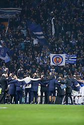 December 6, 2017 - Porto, Porto, Portugal - FC Porto fans celebrate with team the victory in the game during the UEFA Champions League Group G match between FC Porto and AS Monaco FC at Dragao Stadium on December 6, 2017 in Porto, Portugal. (Credit Image: © Dpi/NurPhoto via ZUMA Press)