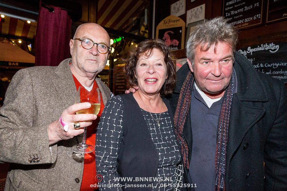 NLD/Amsterdam/20171016 - Sirenen boekpresentatie Jan Cremer, Serge Henri Valcke, ........... en Michiel Romeijn