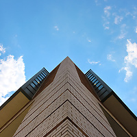 """""""Rocket"""" 2<br /> <br /> Angled vision of the Library building at EMU!!<br /> <br /> Architecture: Structures and buildings by Rachel Cohen"""