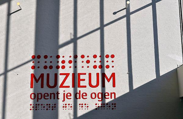 Nederland, Nijmegen, 22-11-2014Het museum voor slechtziendheid en blindheid is gevestigd in het gebouw van de schouwburg, stadsschouwburg. Het theater is een typisch voorbeeld van zetiger jaren architectuur.FOTO: FLIP FRANSSEN/ HOLLANDSE HOOGTE