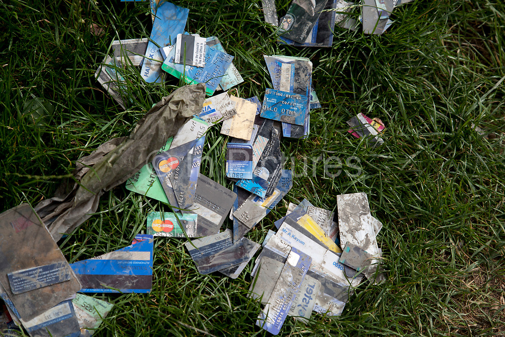 Cut up credit and debit cards discarded at the side of a street. Credit card fraud and crime is a wide-ranging term for theft and fraud committed using a credit card or any similar payment mechanism as a fraudulent source of funds in a transaction. The purpose may be to obtain goods without paying, or to obtain unauthorized funds from an account. Credit card fraud is also an adjunct to identity theft.