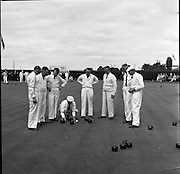 Bowling Final at Iveagh Grounds, Dublin..29.07.1961