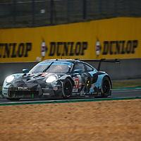#77, Porsche 911 RSR, Dempsey-Proton Racing, drivers: Matt Campbell, Ricardo Pera, Christian Ried, LM GTE Am, 20.9.20, at the Le Mans 24H, 2020