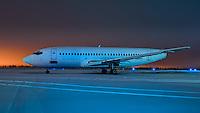 A retired 737-200 awaits an uncertain future