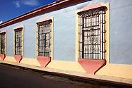 Windows in Gibara, Holguin, Cuba.
