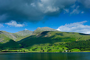 Wastwater in the Lake District National Park, Cumbria, UK