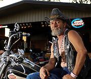 Route 66 biker rally Chandler, OK