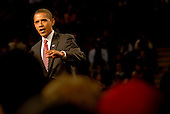 Barack Obama campaigns in Pittsburgh