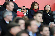 Cardiff city owner Vincent Tan © looks on before the match. Barclays Premier league, Cardiff city v Southampton at the Cardiff city Stadium in Cardiff,  South Wales on Boxing day, Thursday 26th Dec 2013. <br /> pic by Andrew Orchard, Andrew Orchard sports photography.