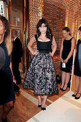 DAISY LOWE at a party to celebrate the opening of the Louis Vuitton Bond Street Maison, New Bond Street, London on 25th May 2010.