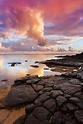 Anini Beach at Sunrise in Kauai Hawaii
