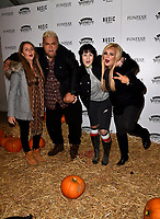 Heavy D and Bryony Ann Harris at the  Shocktober Fest - VIP / press night at Tulleys Farm, Turners Hill Road, Crawley, RH10 4PE, United Kingdom  7 October 2016