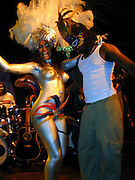 Wyclef with Dancer<br />