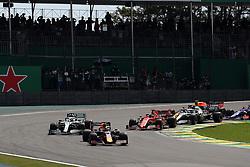 November 17, 2019, Sao Paulo, Brazil: xa9; Photo4 / LaPresse.17/11/2019 Sao Paulo, Brazil.Sport .Grand Prix Formula One Brazil 2019.In the pic: Start of the race (Credit Image: © Photo4/Lapresse via ZUMA Press)