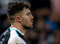 Luke Morgan of Ospreys<br /> <br /> Photographer Simon King/Replay Images<br /> <br /> Guinness PRO14 Round 11 - Ospreys v Scarlets - Saturday 22nd December 2018 - Liberty Stadium - Swansea<br /> <br /> World Copyright © Replay Images . All rights reserved. info@replayimages.co.uk - http://replayimages.co.uk