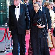 NLD/Amsterdam/20110527 - 40ste verjaardag Prinses Maxima, Wim Kok en partner Rita Roukema