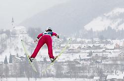 Cornelia Roider of Austria during Normal Hill Individual Competition at FIS World Cup Ski jumping Ladies Ljubno 2012, on February 12, 2012 in Ljubno ob Savinji, Slovenia. (Photo By Vid Ponikvar / Sportida.com)