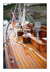 Day five of the Fife Regatta, lay day in Portavadie<br /> <br /> Solway Maid, Roger Sandiford, GBR, Bermudan Cutter, Wm Fife 3rd, 1940<br /> <br /> * The William Fife designed Yachts return to the birthplace of these historic yachts, the Scotland's pre-eminent yacht designer and builder for the 4th Fife Regatta on the Clyde 28th June–5th July 2013<br /> <br /> More information is available on the website: www.fiferegatta.com