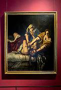 FLORENCE, GALLERIA DEGLI UFFUZI, Judith and Holofernes by Artemisia Gentileschi